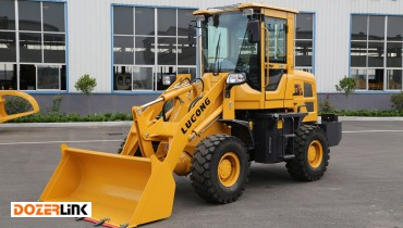 T920, LuGong Compact Wheel Loader, 1.2 ton