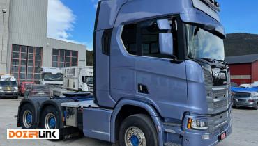 Scania R 580A 6x4HA 100T CHASSES W/HYDRAULICS